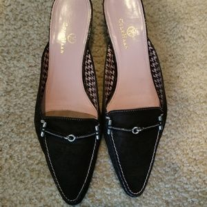 Like New! Two Pairs of Cole Haan Mules